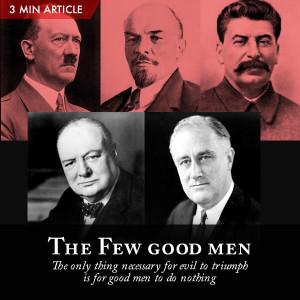 The Few good men - Pastor How Article Thumbnail
