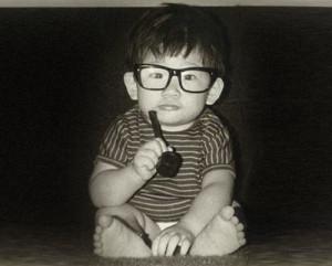 baby photo of Pastor How