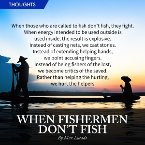 When Fishermen Don't Fish on PastorHow.com (Pastor How | HOGC) - Heart of God Church, Pastor Tan Seow How
