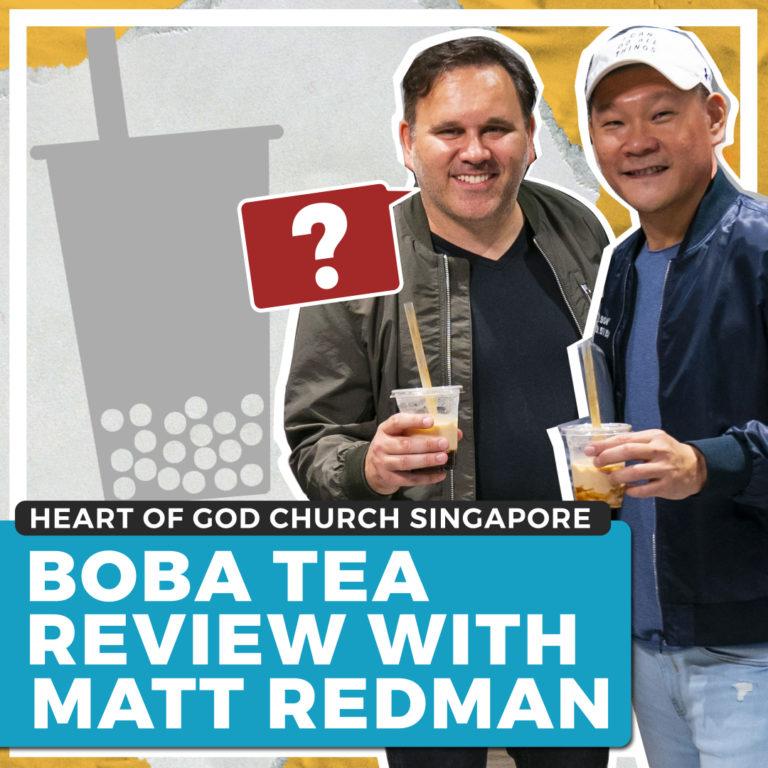 Boba Tea Review With Matt Redman