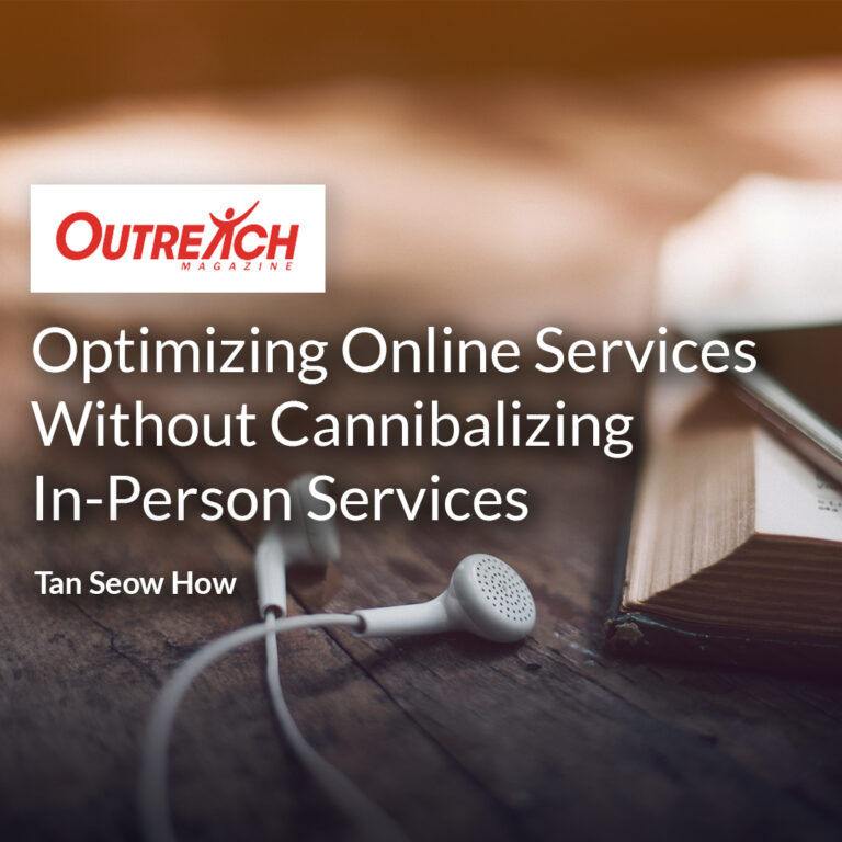 Optimizing Online Services Without Cannibalizing In-Person Services
