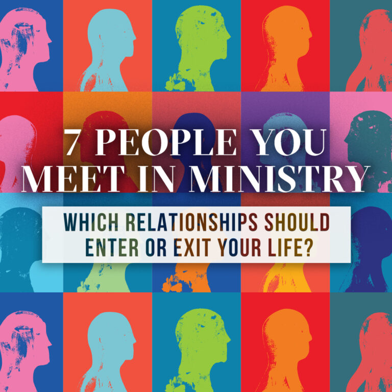 7 People You Meet in Ministry